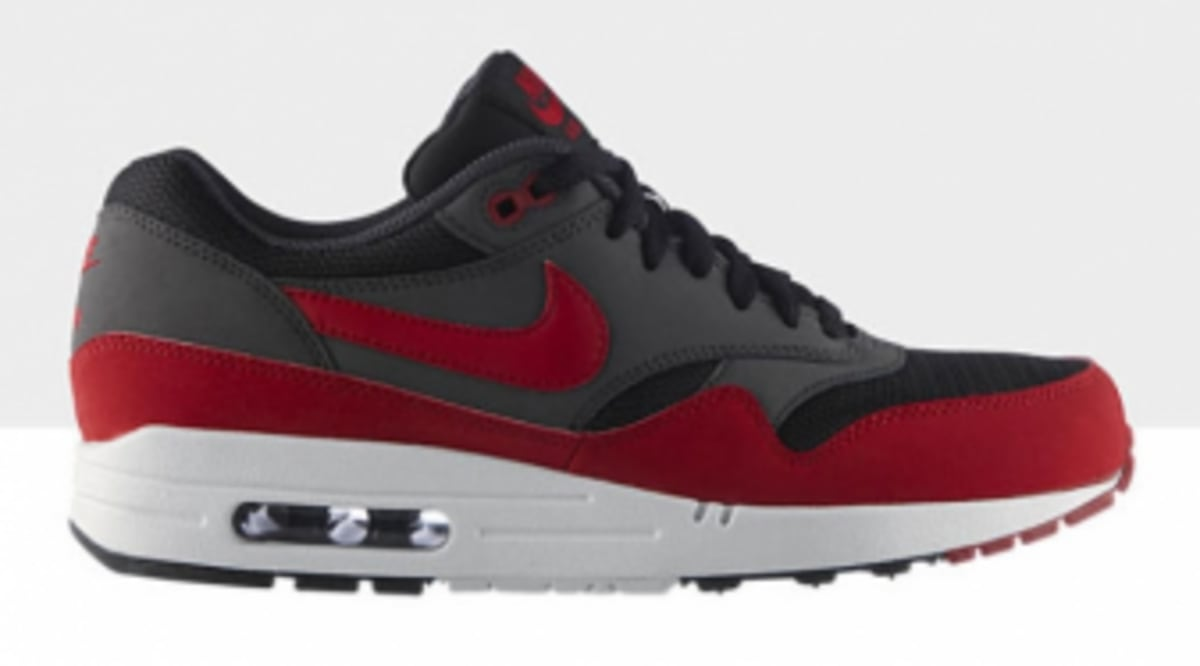 competitive price c9bb9 461bc Nike Air Max 1 Essential - Black Gym Red - Available
