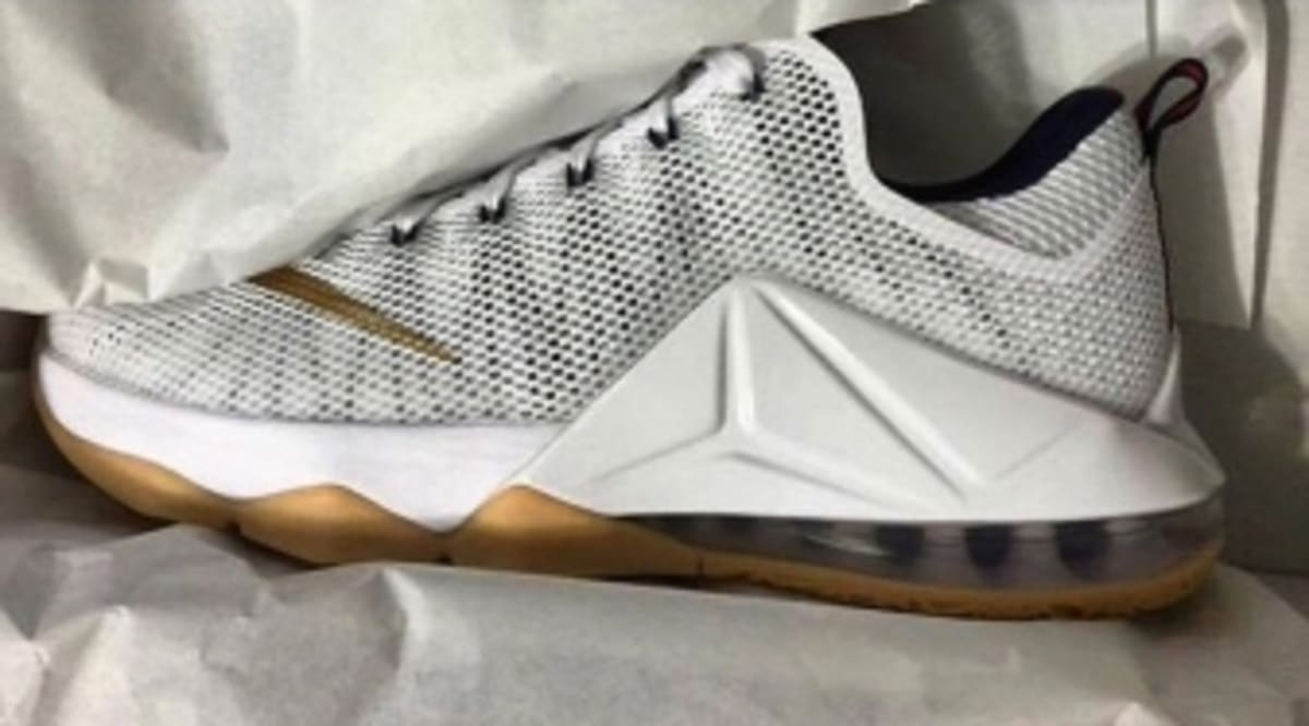 571ef849dc7 The Nike LeBron 12 Low Does America Proud