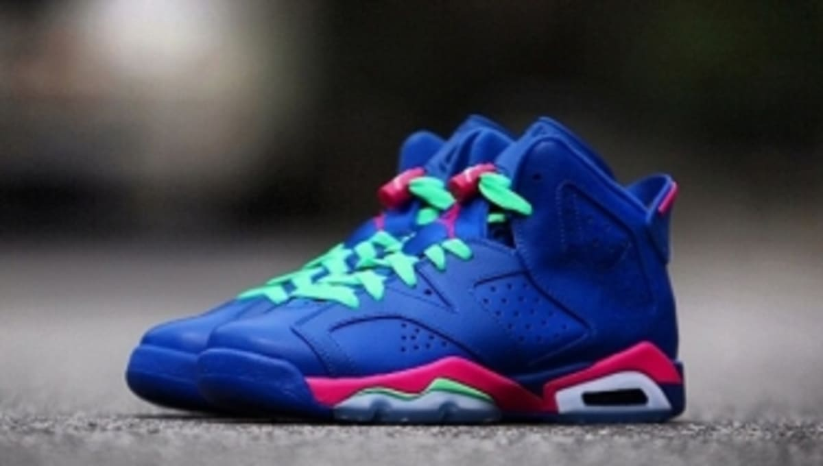 cheaper 6a1af f798b New Images of The  Game Royal  Air Jordan 6 Retro GS