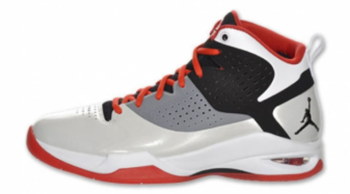 100% authentic c1d20 653cd Air Jordan Fly Wade - Pimento White-Black - Detailed Images   Sole Collector