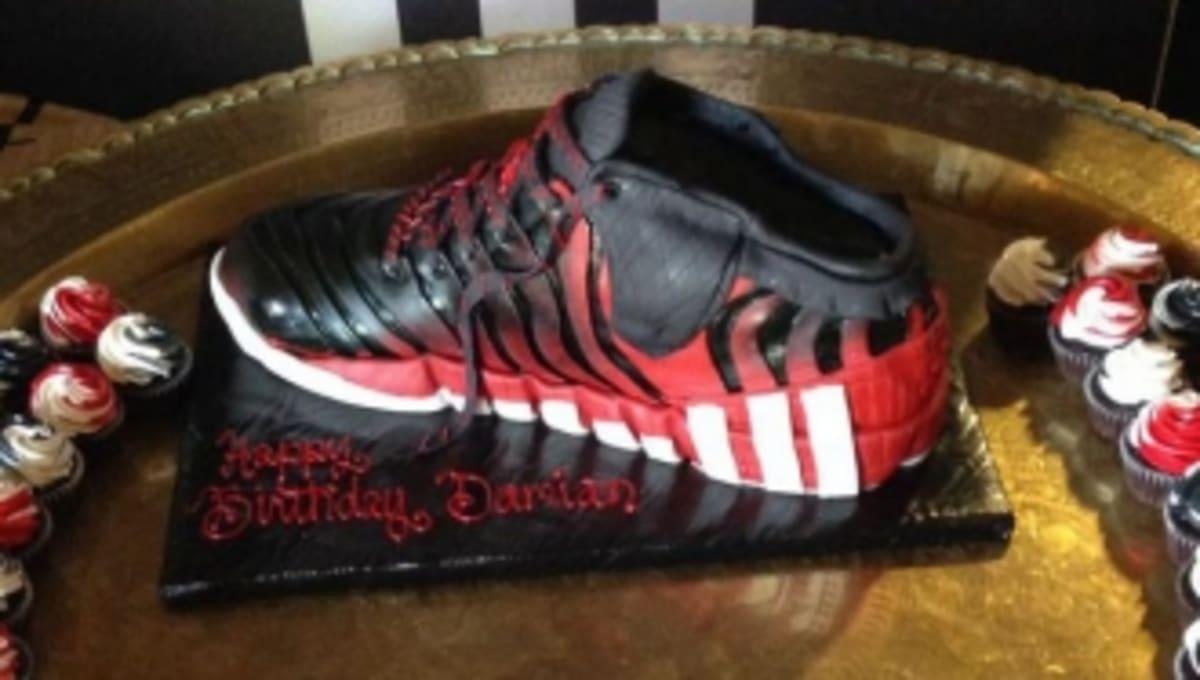 Damian Lillard Birthday Cake