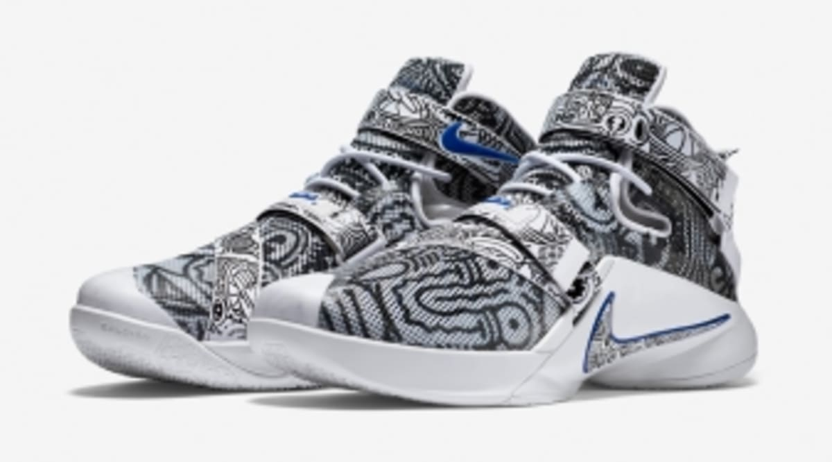 online retailer eaa4a 51967 The Latest Freegums x Nike LeBrons Just Released   Sole Collector