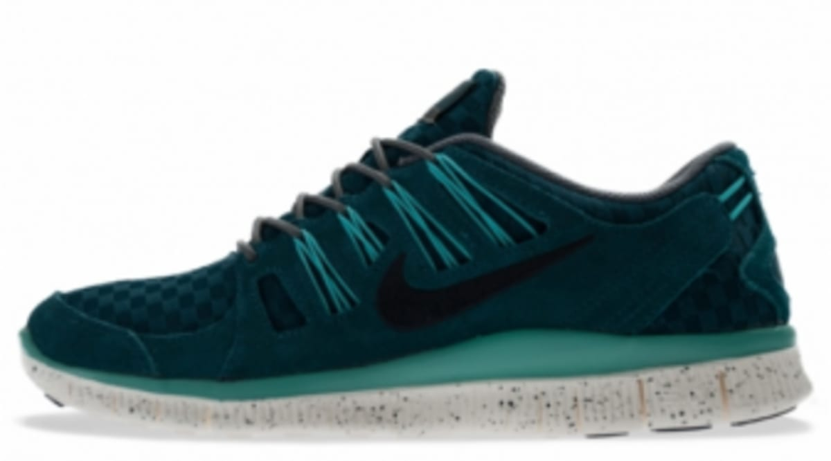 23766eb003cd Nike Free 5.0+ EXT Woven - Mid Turquoise   Anthracite