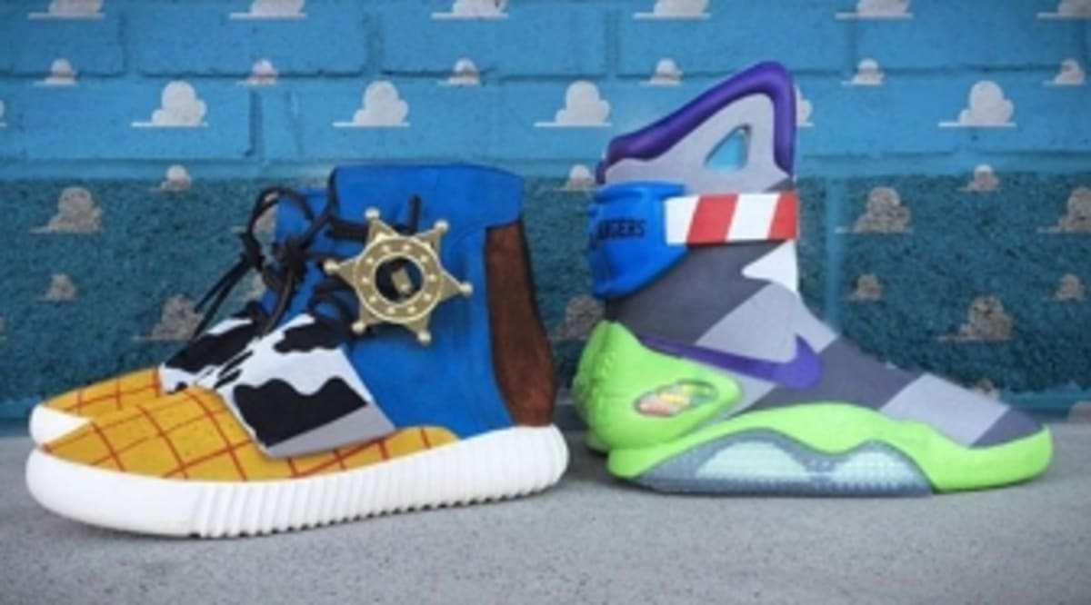 Two Of The Most Hyped Sneakers Were Just Given Toy Story