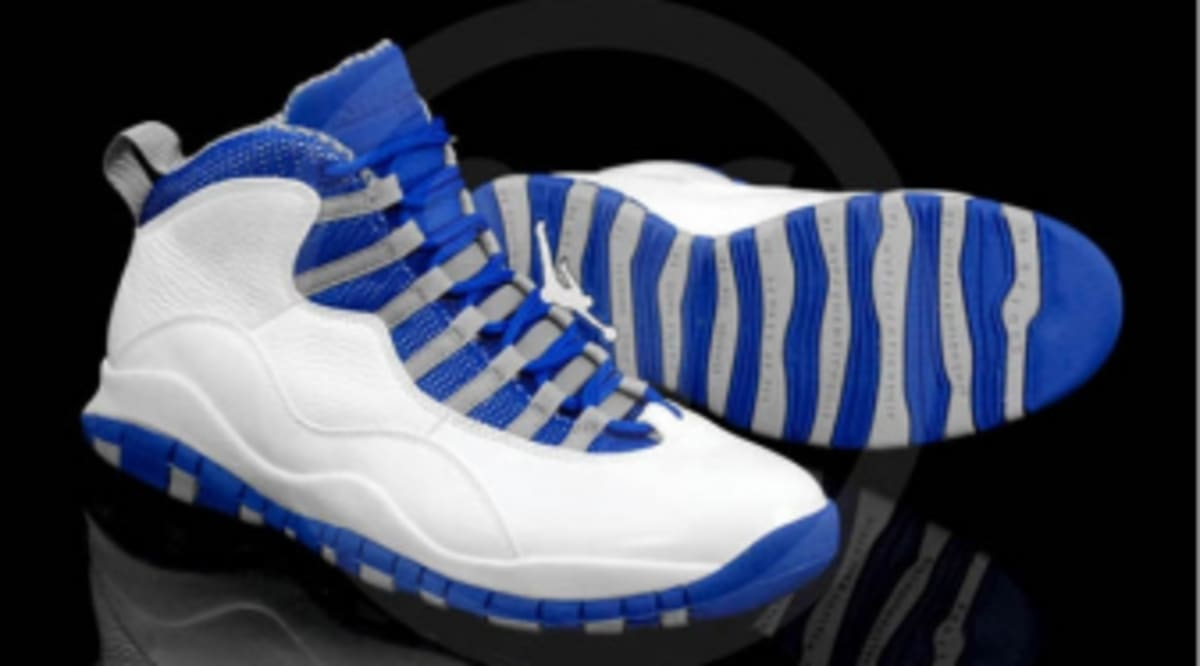 buy online 22b50 9d9a9 Air Jordan Retro 10 - White Old Royal-Stealth   Sole Collector