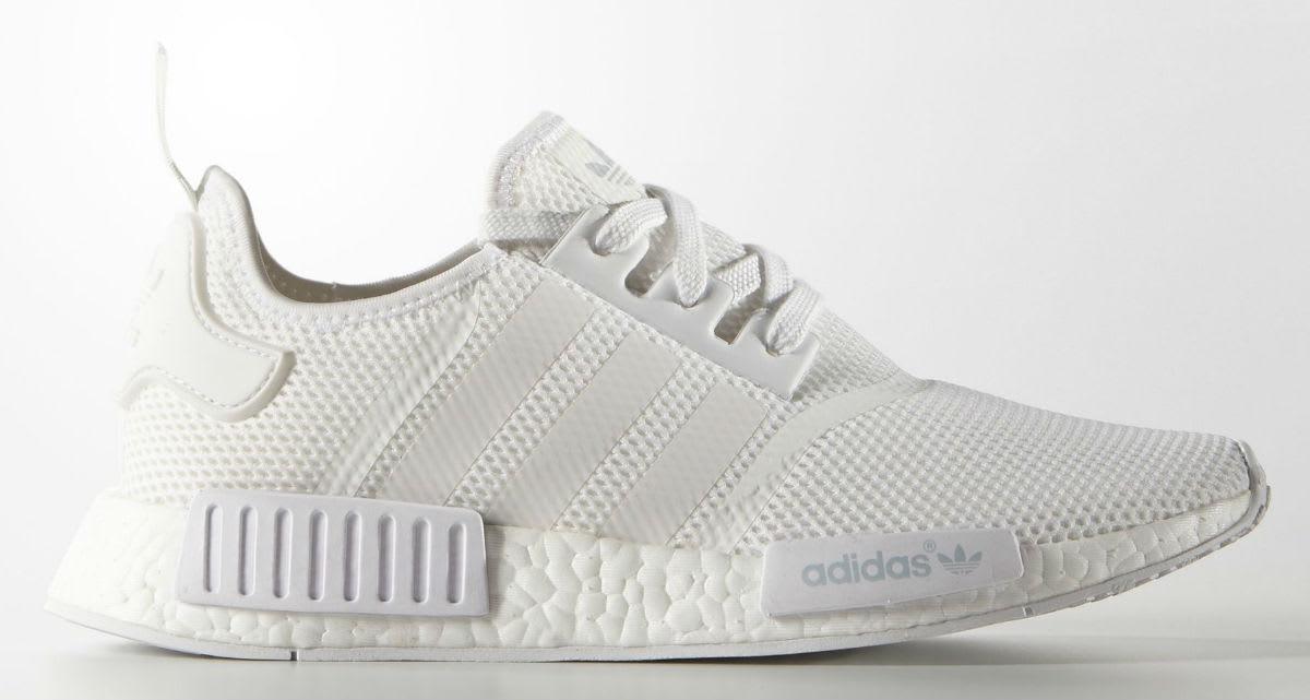 White ADIDAS Low sneakers TEAM COURT W - Omoda.com