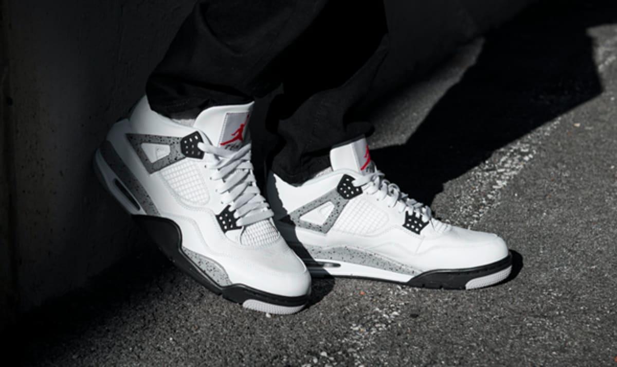 Finish Line Auto >> White Cement Jordan 4 Restock | Sole Collector