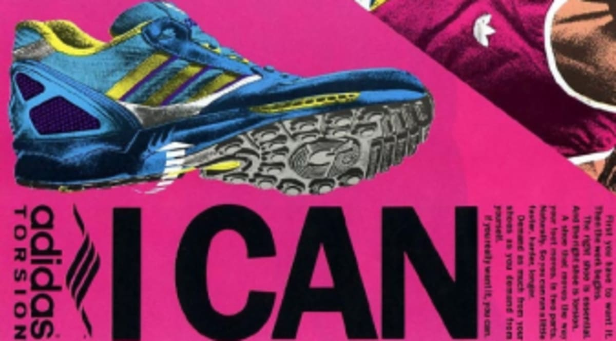 the best attitude 235ce 93138 Vintage Ad  adidas Torsion Running Shoes   Sole Collector