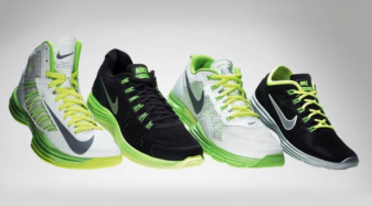competitive price bf5bf 27044 Nike Unveils Lunarlon Collection