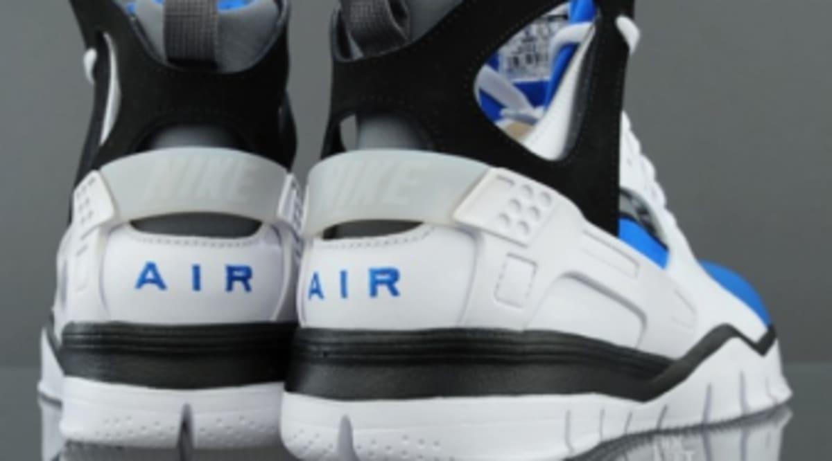 70fd4a1788f4 Nike Huarache Basketball 2012 - White Black-Soar - New Images