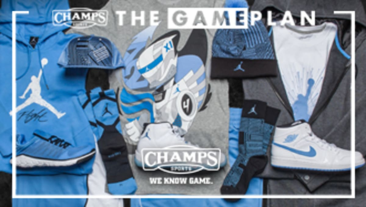 separation shoes f1d59 d81d9 The Game Plan by Champs Sports Presents the Jordan Legend Blue Collection