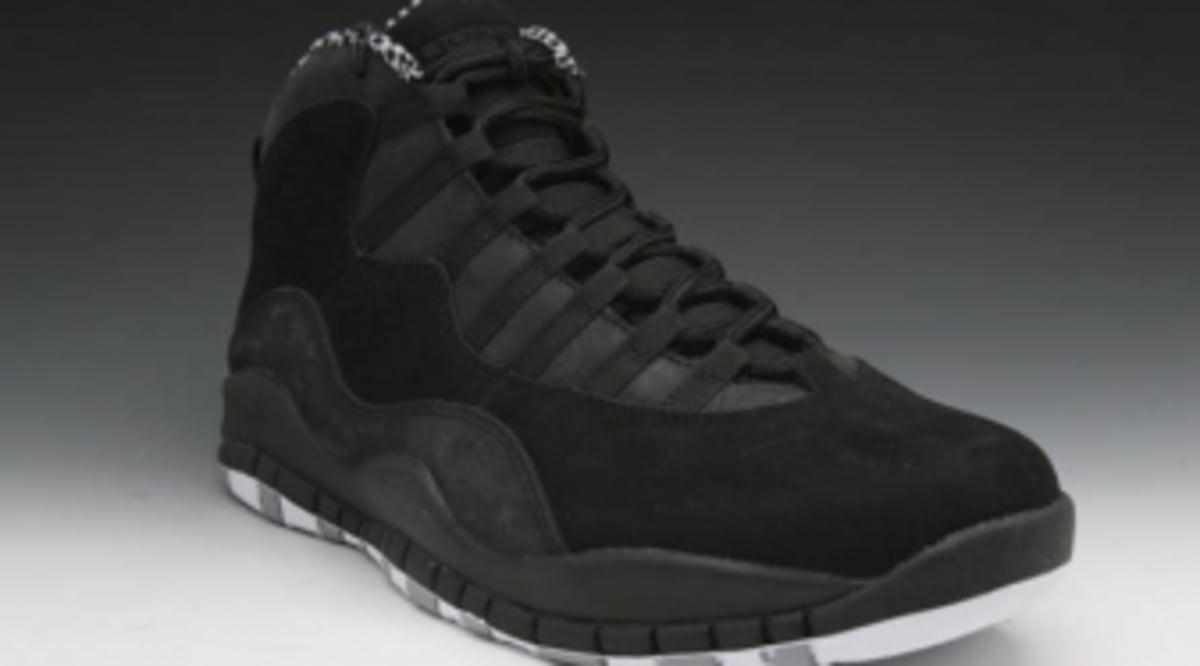 0005417cc8a490 Air Jordan Retro 10 - Black White-Stealth