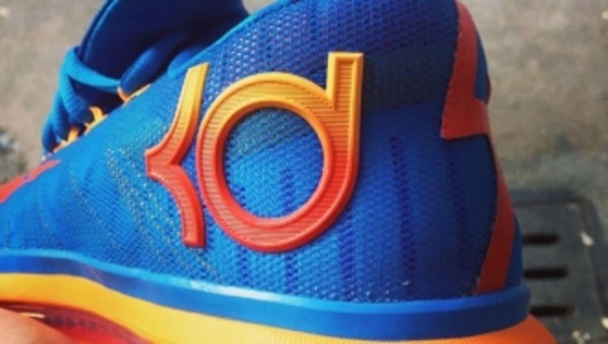 competitive price 05d2d 7836e Nike KD 6 Elite - Blue Orange   Sole Collector