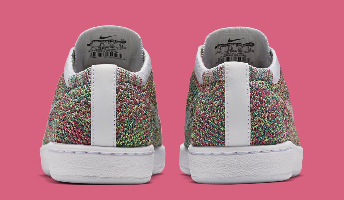 cc4a85dcca00 Multicolor Nike Flyknit Tennis Classic