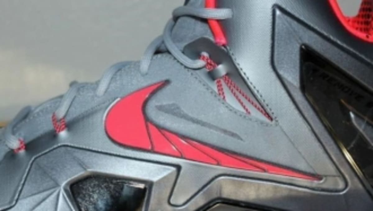 the best attitude 1725a 51487 Nike LeBron 11 Elite - Wolf Grey Crimson-Cool Grey-Black   Sole Collector