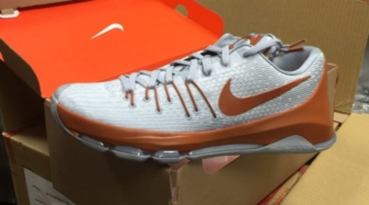1b63aead542 Kevin Durant s Alma Mater Gets Its Own Nike KD 8s