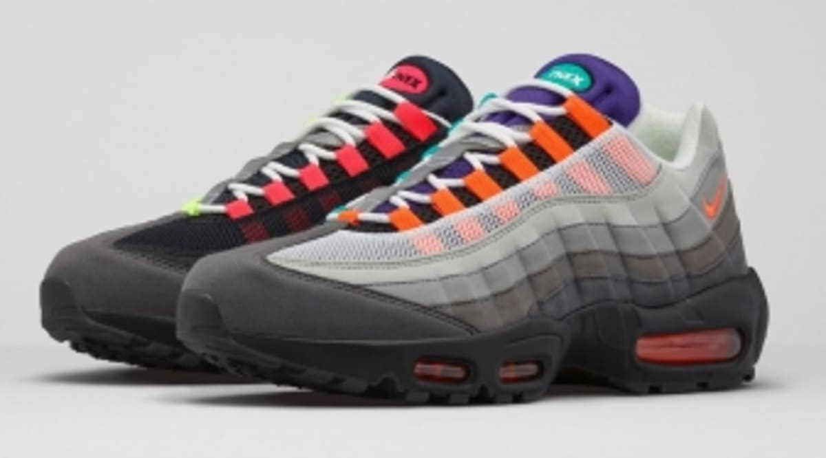 new style d71bc 2c392 It's Okay to Get Greedy with This Nike Air Max 95 | Sole Collector