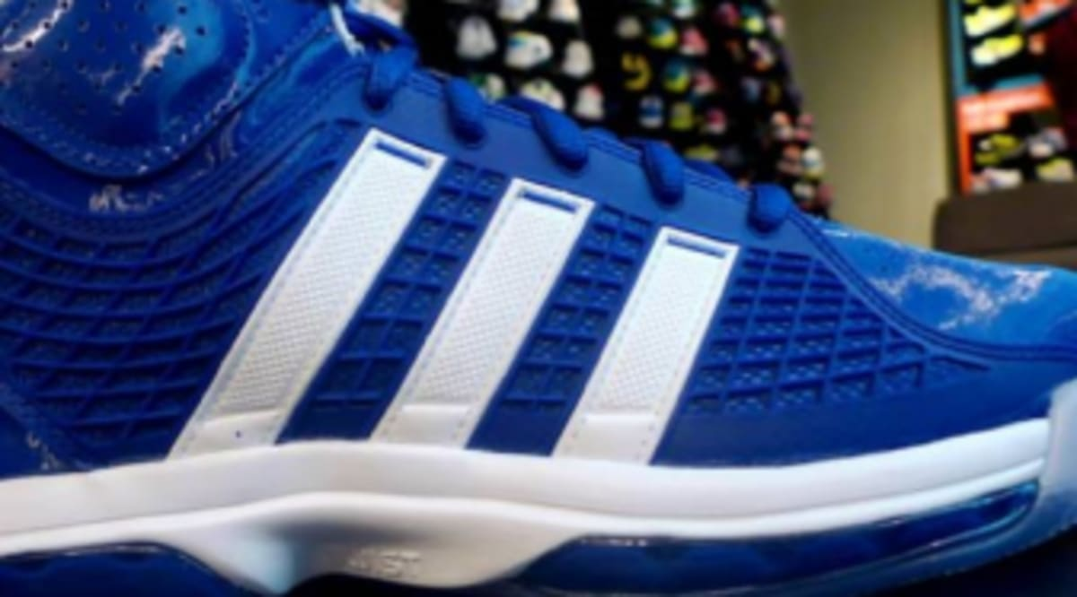 new concept 3981a b55d8 adidas adiPower Howard TB - Collegiate Royal White - New Images   Sole  Collector