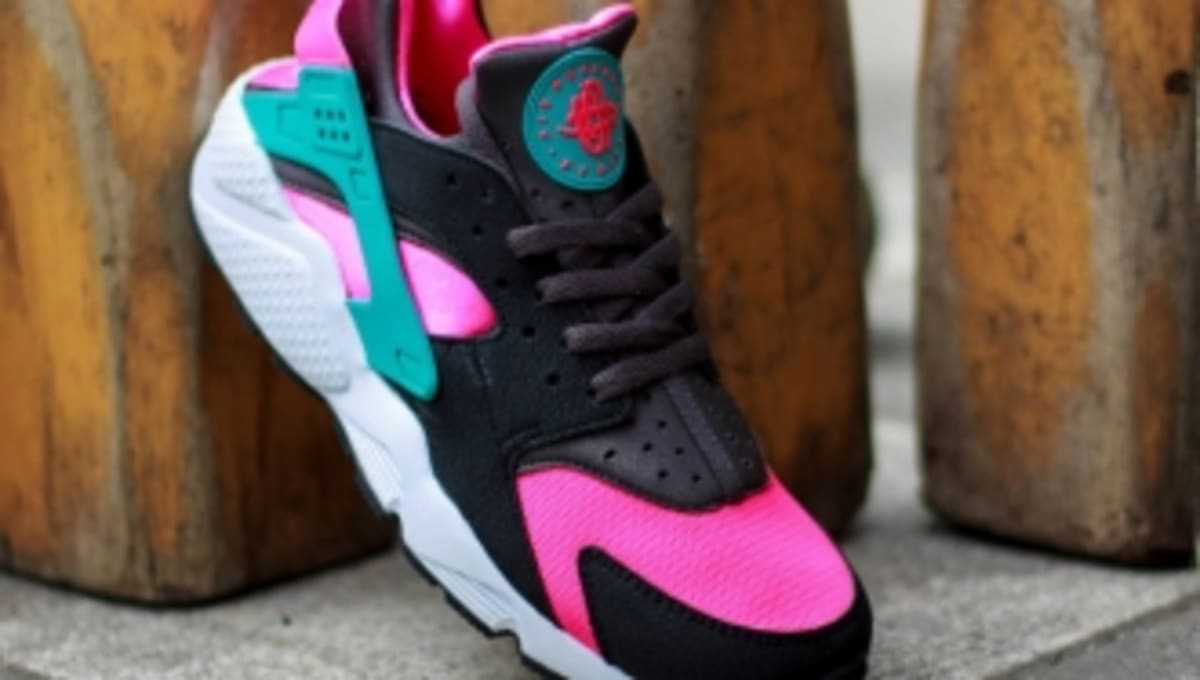 size 40 fd29a 241b9 Nike Air Huarache - Hyper Pink Dusty Cactus-Medium Ash