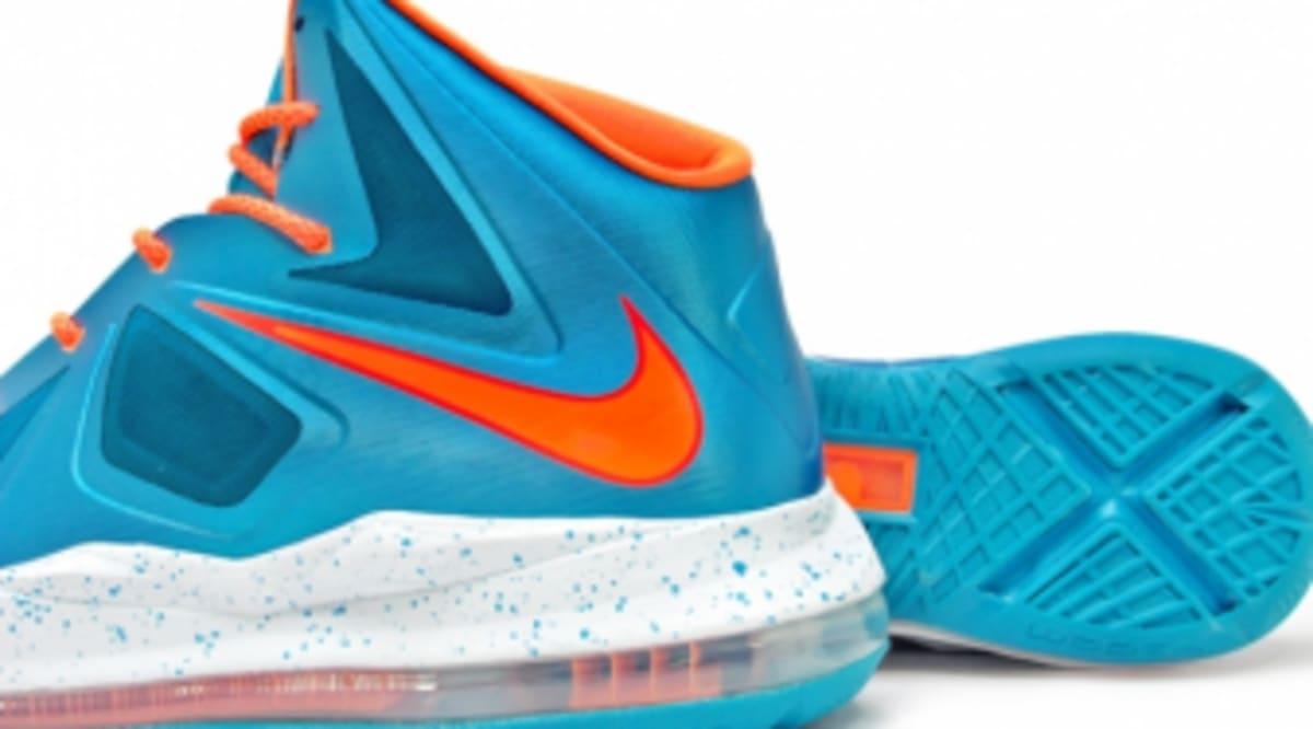 70e9dc5f9d9 Nike LeBron X GS - Turquoise Bright Citrus-Windchill