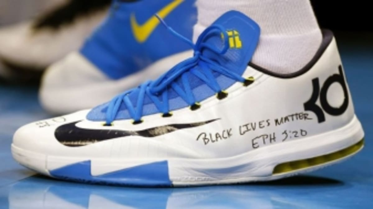 solewatch kevin durants quotblack lives matterquot nike kd 6