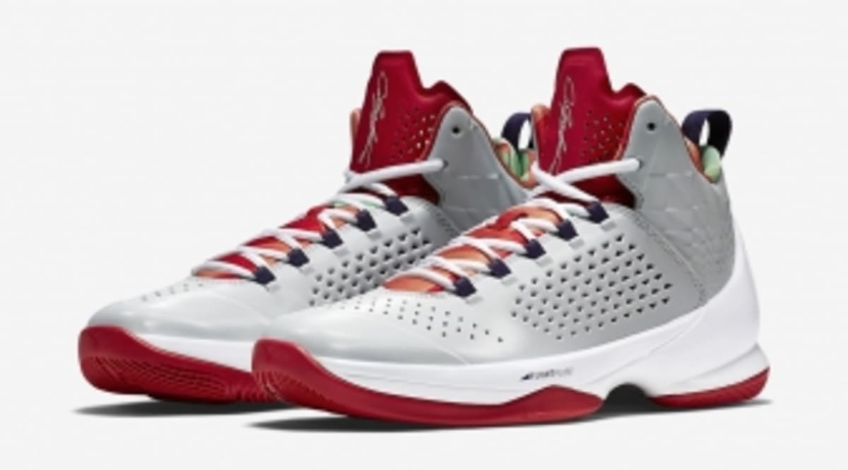 204372bb09a The Melo M11 Gets Another Air Jordan 7-Inspired Makeover | Sole Collector