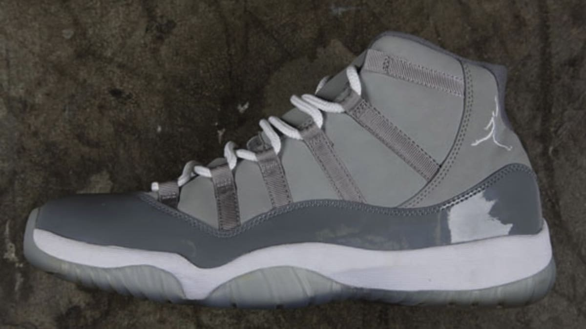 new arrival 235ff 34fb5 How To Spot Fakes    Air Jordan 11 Retro  Cool Grey    Sole Collector