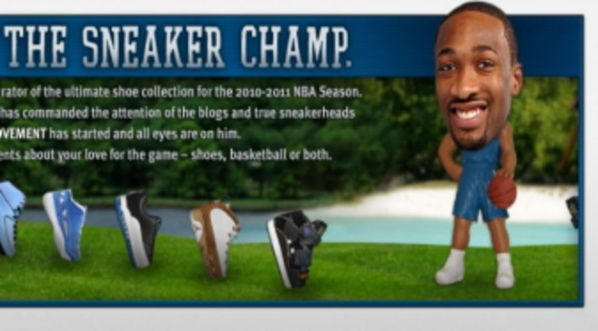 Gilbert Arenas Launches Sneaker Champ Microsite   Twitter Account ... efd9a4bc0a25