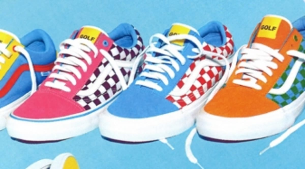 tyler the creator designed some more vans sneakers sole