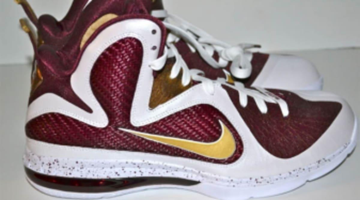 8be4509165e Nike LeBron 9 - Christ the King Home