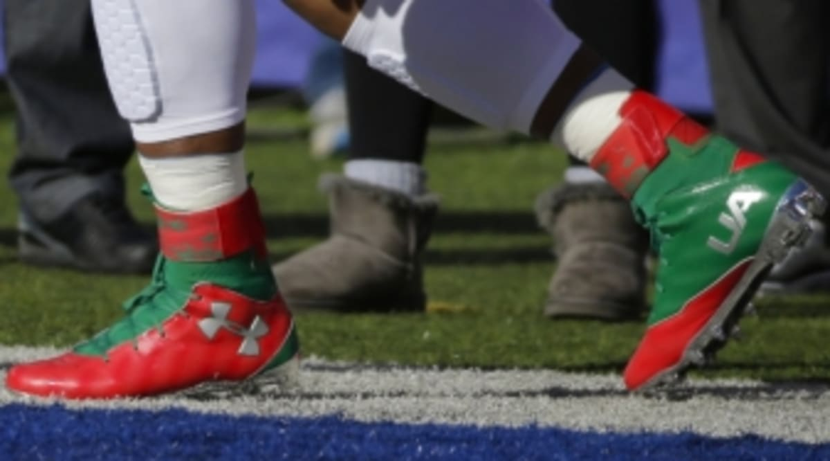 Cam Newton Also Has Special Cleats for Christmas | Sole Collector