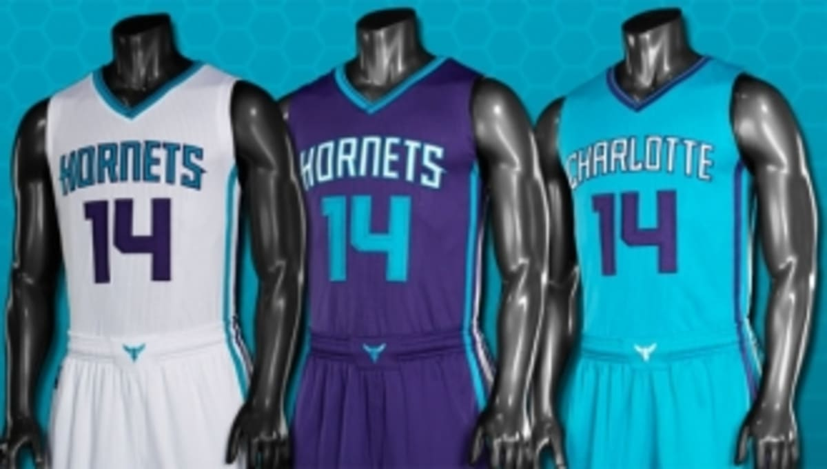 Charlotte Hornets Unveil New Uniforms For 2014 2015 Season Sole Collector