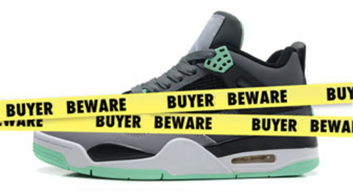 0e4121e1cf5 Buyer Beware : 10 Sneakers We Can't Believe Are Fake | Sole Collector