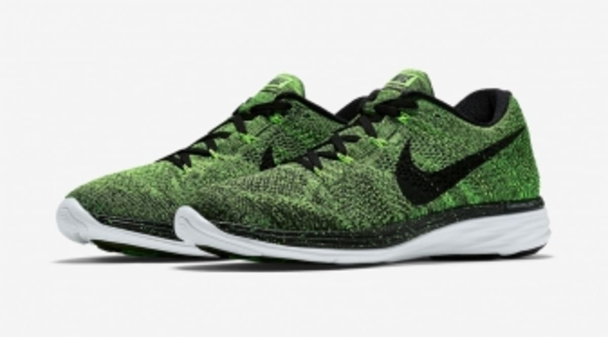 the latest adc72 f32f1 ... real this nike flyknit lunar 3 is electric sole collector aab37 9d5b7