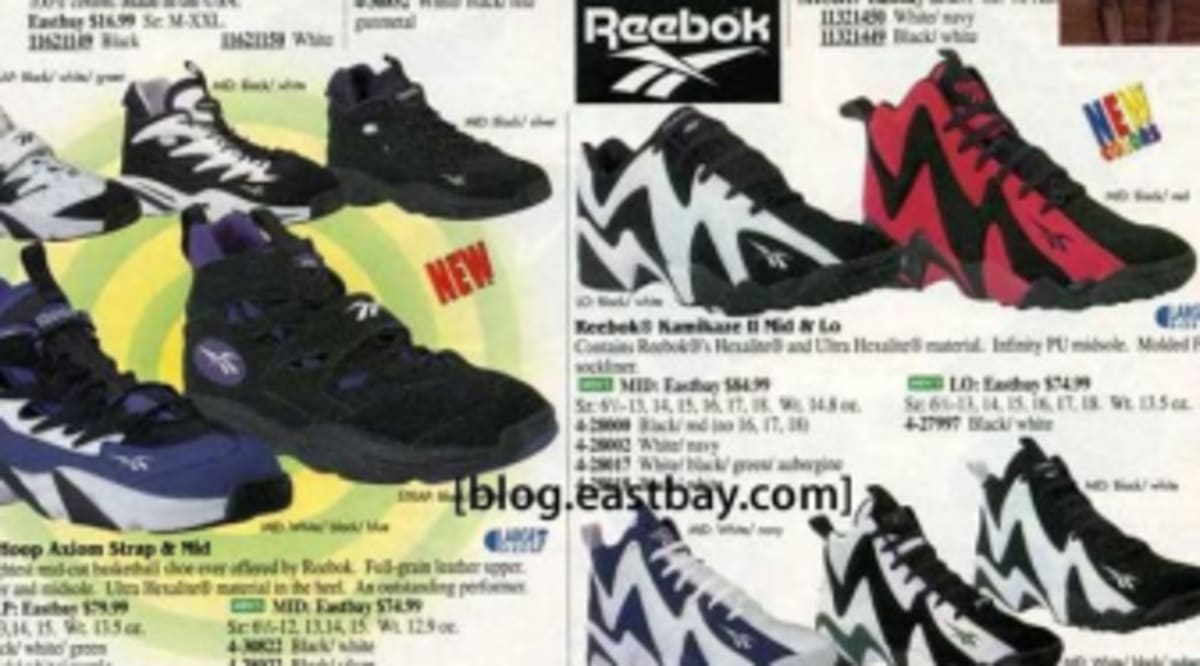 2bfa8b26f Eastbay Memory Lane  The Reebok Kamikaze II