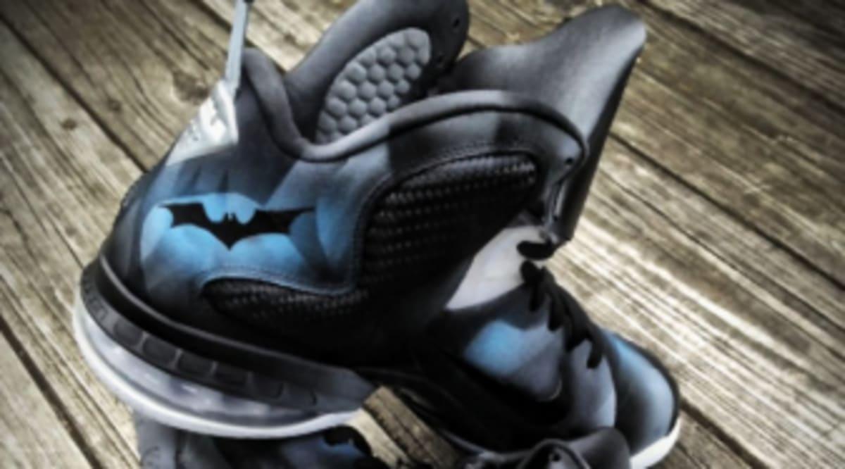 brand new fae26 4e04b Buy Cheap Online Nike Lebron 9 Dark Knight Custom