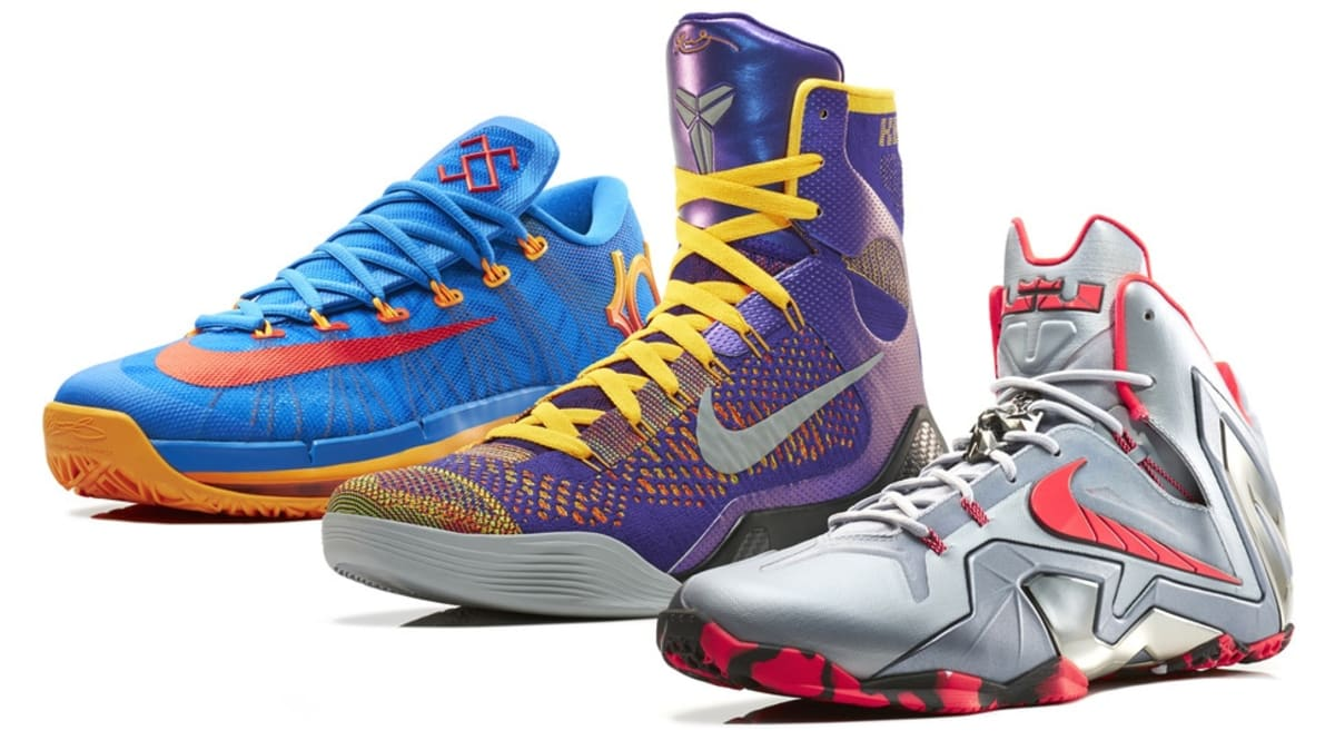 best sneakers 5e7f5 15106 Nike Basketball Unveils The Elite Series Team Collection. Nike Basketball  officially unveils new Elite Series models for LeBron, Kobe and KD.