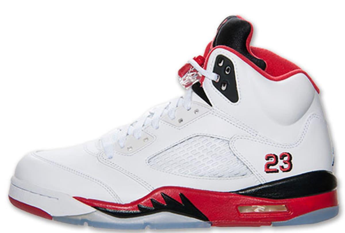 Air Jordan 5 Retro 'Fire Red' - Air Jordan 5 Price Guide ...