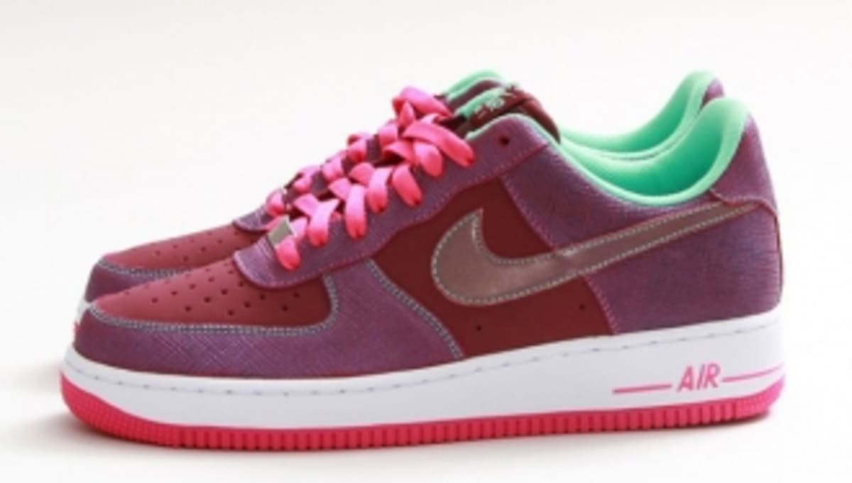 outlet store 3aba4 f008f Nike Air Force 1 Low - Cherrywood Red/Pink Foil | Sole Collector