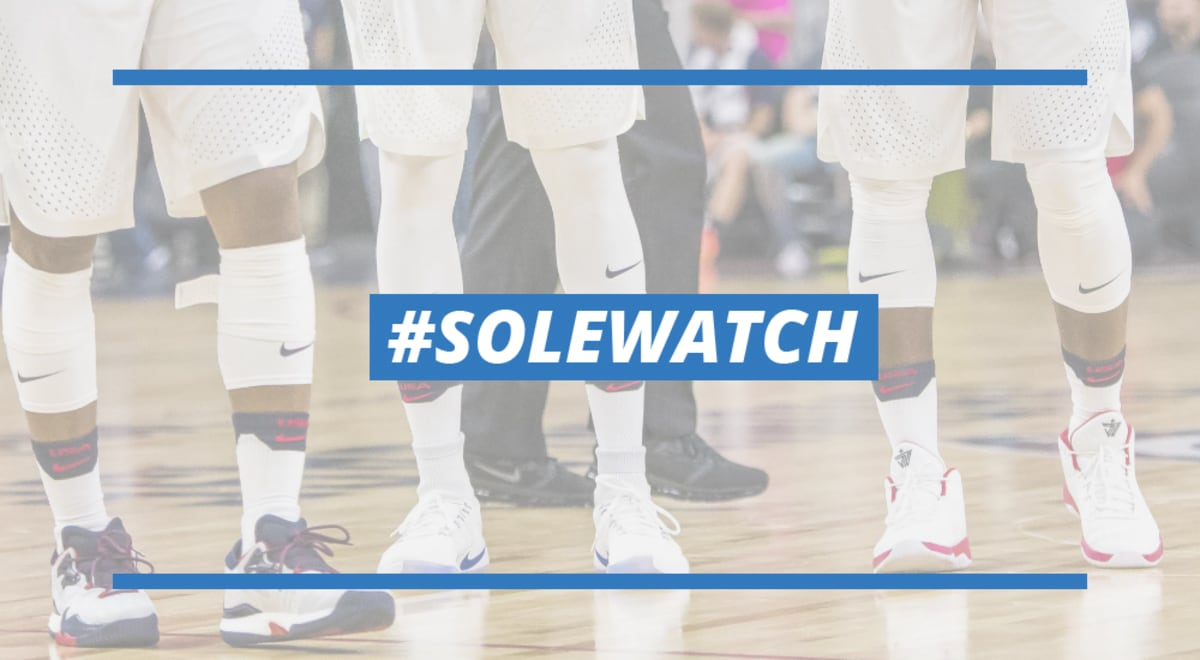 timeless design 4b01f 1eb63  SoleWatch  Every Sneaker Worn by Team USA in Last Night s Exhibition