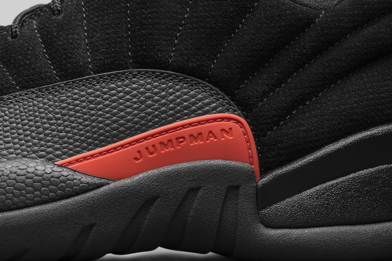 Air Jordan 12 Low Max Orange 308317-003 Detail