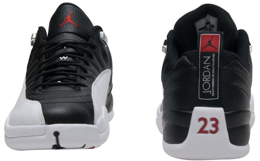 Air Jordan 12 Low Playoffs Release Date Heel 308317-004
