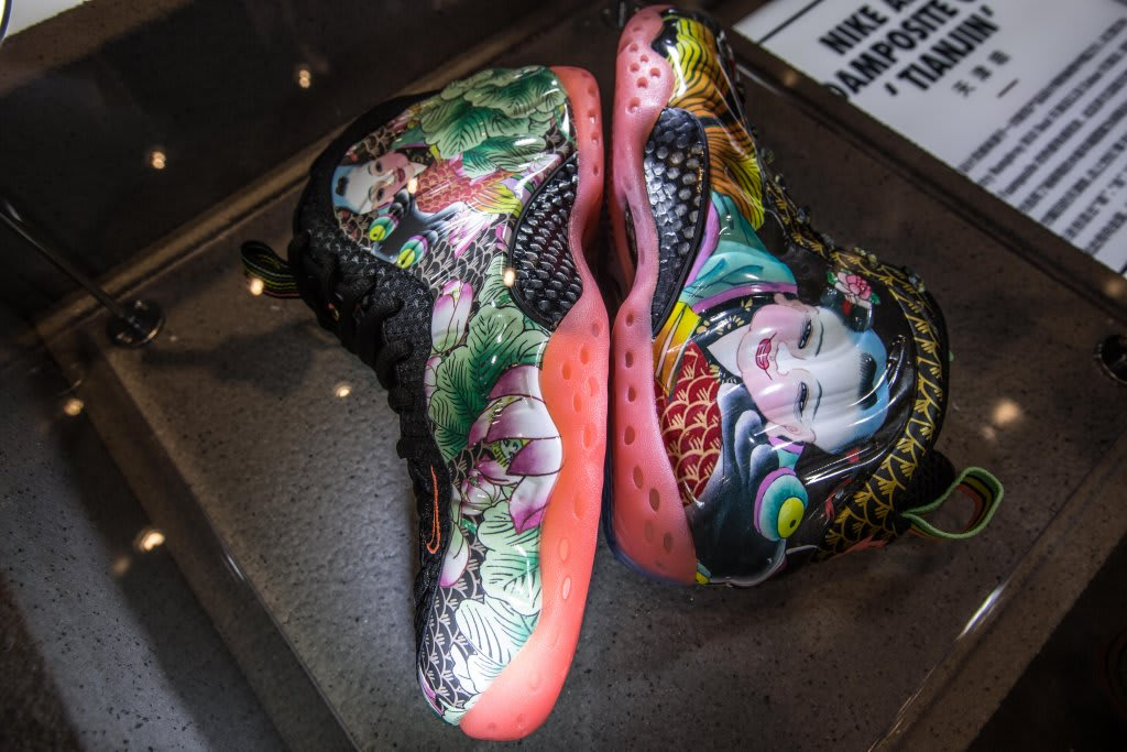Nike Foamposite Exhibition