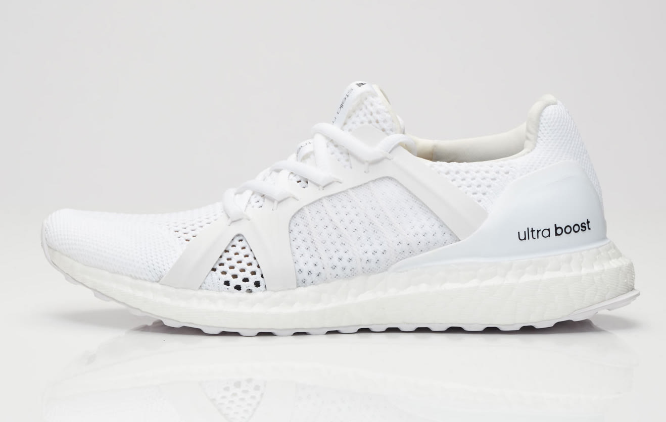 triple white stella mccartney adidas ultra boost bb0820. Black Bedroom Furniture Sets. Home Design Ideas