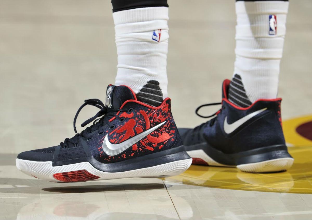 Kyrie Irving Nike Kyrie 3 Samurai On-Foot
