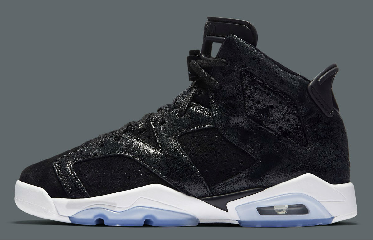 Air Jordan 6 Heiress Black Suede Release Date Profile 881430029
