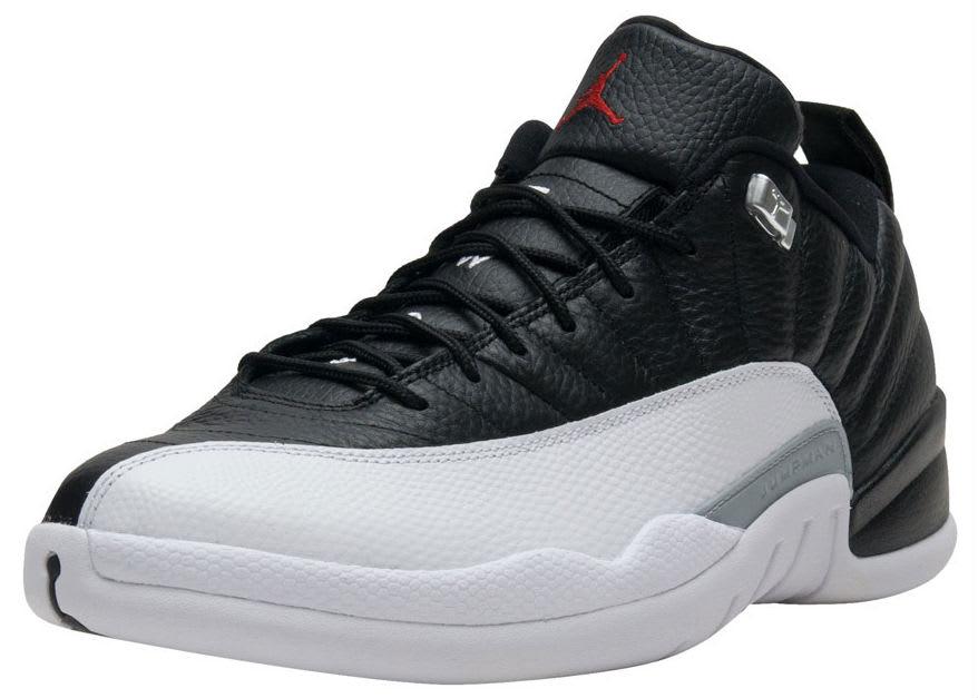 Air Jordan 12 Low Playoffs Release Date Front 308317-004