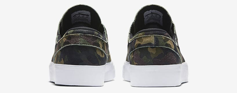 "Nike SB Zoom Stefan Janoski ""Green Camo"" heel"