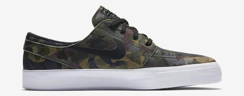 "Nike SB Zoom Stefan Janoski ""Green Camo"" medial"