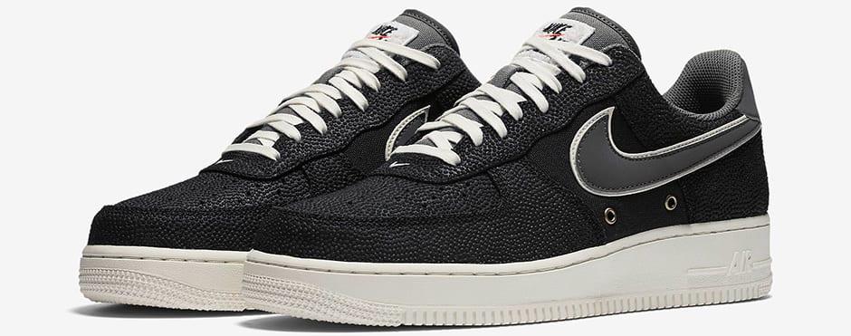 promo code 81573 291f8 Image via Nike nike-air-force-1-basketball-leather-black-1